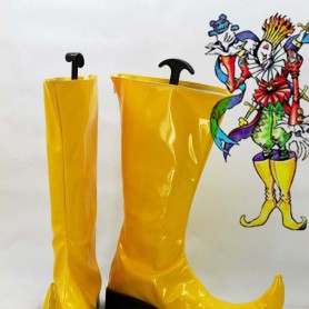 Digimon Adventures Piemon Yellow Cosplay Boots