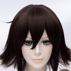 Durarara Cosplay Kururi Orihara Brown Cosplay Wig