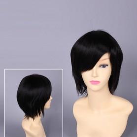 Durarara Mikado Ryugamine Black Cosplay Wig