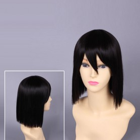 Durarara Sonohara Anri Black Cosplay Wig