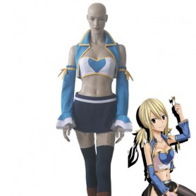 Fairy Tail Cosplay Lucy Heartfilia After Seven Years Cosplay Costume