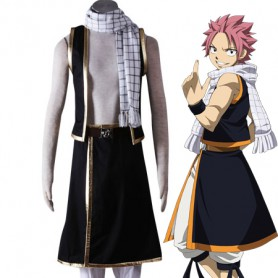 Fairy Tail Cosplay Natsu Dragneel Cosplay Costume