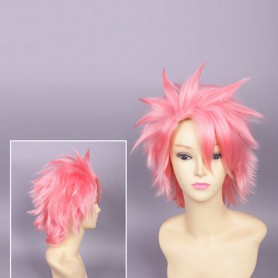 Fairy Tail Cosplay Natsu Dragneel Short Cosplay Wig