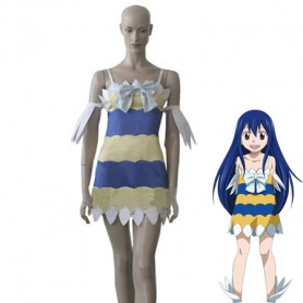 Fairy Tail Dragon Slayers Wendy Marvell Cosplay Dress