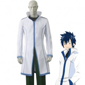 Fairy Tail Gray Fullbuster White Cosplay Costume