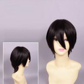 Free! Cosplay Haruka Nanase Black Cosplay Show Wig