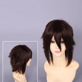 Black Hakuouki Okita Souji Short Cosplay Wig