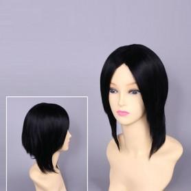 Black Hakuouki Toshizo Hijikata Cosplay Wig