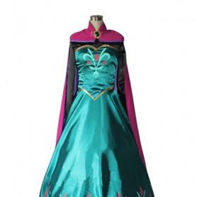Frozen Elsa the Snow Queen Crowned Cosplay Cosplay Dress