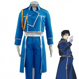 Fullmetal Alchemist Cosplay Roy Mustang Style 1 Military Cosplay Costume