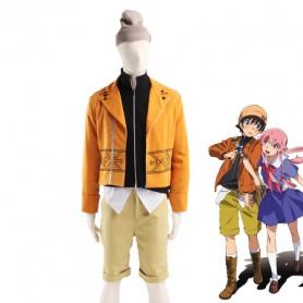 Future Diary Amano Yukiteru Cosplay Costume