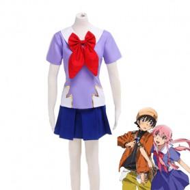 Future Diary Gasai Yuno School Uniform Cosplay Costume