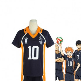 Haikyuu!! Shoyo Hinata Karasuno High School Volleyball Team Uniform Cosplay Costume