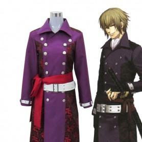 Hakuoki Kazama Chikage 1st Overcoat Cosplay Costume