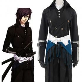 Hakuouki Hajime Saito Uniform Cloth Cosplay Costume