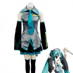 Hatsune Miku Suit Cosplay Costume