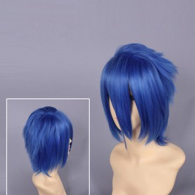 Character Vocaloid Series Kaito Blue Cosplay Wig
