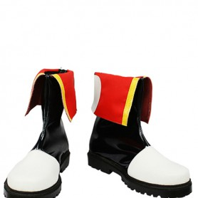 Vocaloid Akaito Artificial Leather Cosplay Boots