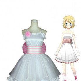 Vocaloid Magnet Rin Kagamine Cosplay Costume/Dress