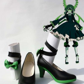Vocaloid Death Master Cosplay Black Rock Shooter Cosplay Shoes