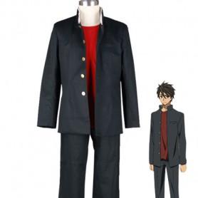 Highschool of the Dead Takashi Komuro School Uniform Cosplay Costume