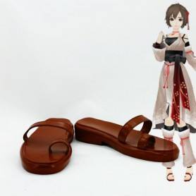 Vocaloid Meiko Cosplay Shoes/Sandals