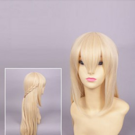 Hyperdimension Neptunia Vert/Green Heart Cosplay Wig