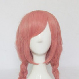 Inu x Boku SS Cosplay Roromiya Karuta Pink Cosplay Wig