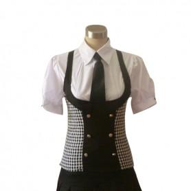 Inu x Boku SS Roromiya Karuta Cosplay Costume