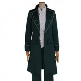 K Project Cosplay Adolf K. Weismann Green Cosplay Costume