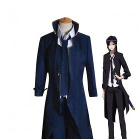 K Project Cosplay Kuroh Yatogami Blue Cosplay Costume