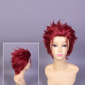 K Project Mikoto Suou Red Cosplay Wig