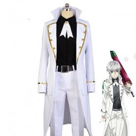 K RETURN OF KINGS Yashiro Isana White Cosplay Costume