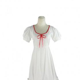 Kagerou Project Ayano Tateyama White Cosplay Dress