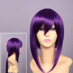 Kamigami no Asobi Cosplay Yui Kusanagi Purple Coslay Wig