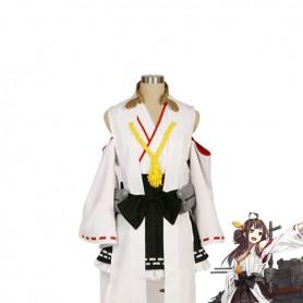 Kantai Collection Fleet Girls Kongou Cosplay Costume