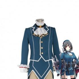 Kantai Collection Fleet Girls Takao Uniform Cosplay Costume