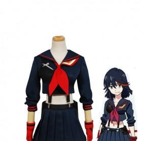 Kill la Kill Ryuko Matoi Senketsu Cosplay Costume/Dress