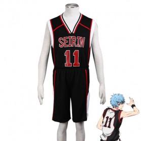 Kuroko no Basketball Tetsuya Kuroko Seirin High School basketball team Uniform Cosplay Costume
