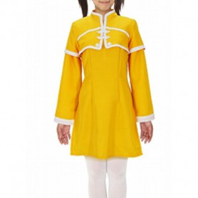 Magister Negi Magi Gu Fei Yellow Cosplay Costume