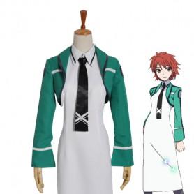 Mahouka Koukou no Rettousei Chiba Erika School Uniform Cosplay Costume