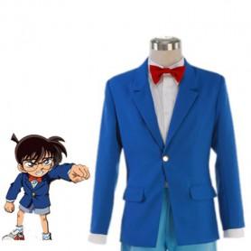 Detective Conan Cosplay Conan Edogawa Blue Cosplay Costume