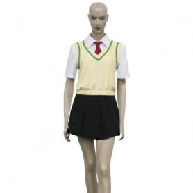 EVA/Neon Genesis Evangelion Rei Ayanami Cosplay Costume 2