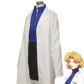 EVA/Neon Genesis Evangelion Ritsuko Akagi Cosplay Costume