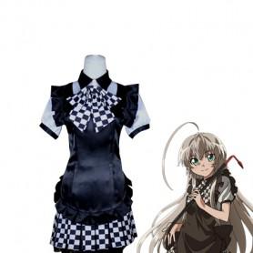 Haiyore! Nyaruko-san Cosplay Nyaruko Cosplay Costume/Combat Gear