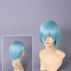 Neon Genesis Evangelion Rei Ayanami Blue Cosplay Wig