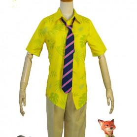 Zootopia/Zootropolis Nick Wilde Cosplay Costume