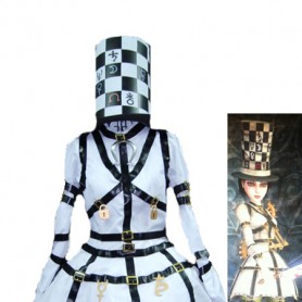 Alice: Madness Returns Alice White Mad Hatter Cosplay Costume/Dress