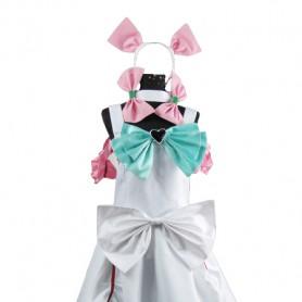 Pretty Cure White Cosplay Cosplay Costume/Lolita Dress