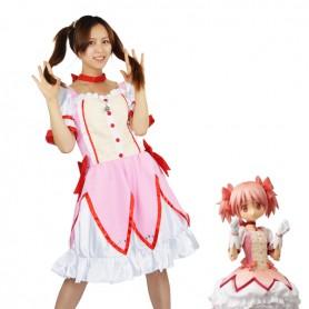 Puella Magi Madoka Magica Cosplay Kaname Madoka Cosplay Costume